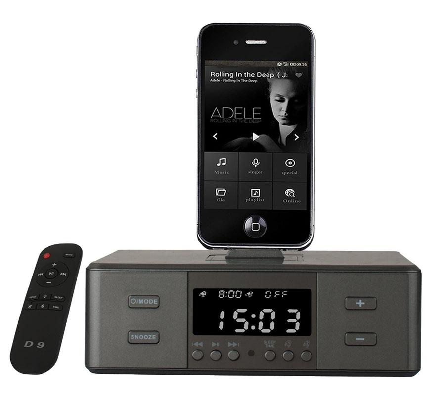 bt lautsprecher mit nfc docking station ladefunktion f r ipod iphone android ebay. Black Bedroom Furniture Sets. Home Design Ideas